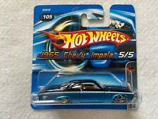 1965 Chevy Impala Collector #105 Short Card  Hot Wheels