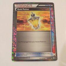 Gold Potion Holo Rare Trainer Pokemon Card BW Boundaries Crossed 140/149