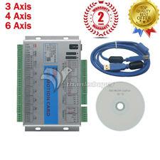 USB 2MHz 2000KHz Tarjeta De Control De Movimiento Mach 4 3/4/6 aixs breakout junta Cnc Router