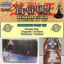"""YUGIOH HEROCLIX SERIE 2 JINZO OP KIT: Mapa/Map """"Zeppelin"""" / """"Battlecity"""""""