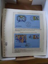 Vatikan Ganzsachen Abosammlung gestempelt 1980-2008 auf Lindner / Sieger Blätter