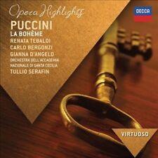 Puccini La Boheme - Opera Highlights CD NEW/SEALED Renata Tebaldi, Carlo Bergonz