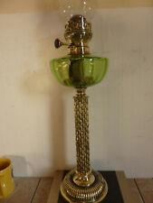 Très belle et grande lampe à pétrole  XIXeme