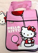 Hello Kitty - Sanrio - Tracollina in Tessuto Rosa 15x20- Cartorama - Nuovo