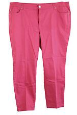 INC 24w Pink Denim Slim Tech Fit Skinny Leg Jeans NWT FREE SHIPPING Plus Size