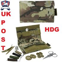 S95 SEWING SEW KIT POUCH - BRITISH ARMY MULTICAMO BTP MTP - Scissors Cadet Scout