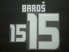 BAROS NOME+NUMERO UFFICIALE REP.CECA EURO 2004 HOME OFFICIAL NAMESET