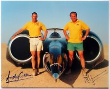 Land Speed Record: Thrust SSC Richard Noble and Andy Green Signed Photograph
