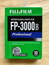 FUJIFILM FP-3000B 3.34in x 4.25in B&W (Three Pack) for Polaroid 600 SE