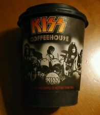 """Kiss Coffeehouse Coffee Cup  """"Coffee Is Hotter Than Hell!""""  2006"""