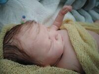 tracyslittletreasures ~ baby BOY ROMY~ LE ~ GUDRUN LEGLER~ANATOMICALLY CORRECT