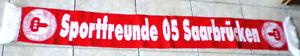 SPORTFREUNDE 05 SAARBRÜCKEN-alter Fanschal-ungebrauchter Zustand-SPORTFREUNDE-!!