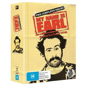MY NAME IS EARL The Complete Series : Season 1 2 3 4 : NEW DVD