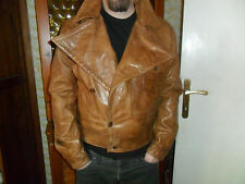BELSTAFF THE AVIATOR DI CAPRIO LEATHER FILM MOTORCYCLE JACKET XL RARE EXCELLENT