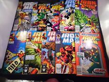 Iron Man Lot #250 261 268 271 273 274 275 278 270 and #280
