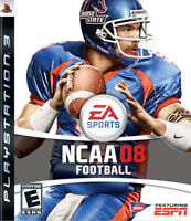 NCAA Football 2008 PS3 New Playstation 3