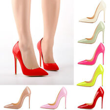 Onlymaker Women Sexy Pointed Toe High Heel Slip On Stiletto Pumps Large Sz Shoes