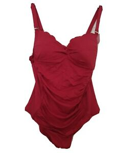 HUNKEMOLLER PINK CONTOURING BODY SHAPING  SWIMMING COSTUME SIZE 20 BNWT