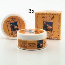 3x Arganöl Creme von ARGANAT aus Marokko Tages Gesichtspflege 100ml Anti Aging
