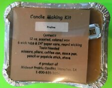 CANDLE MAKING KIT 'PRALINE' MIDWEST PRAIRIE CANDLES