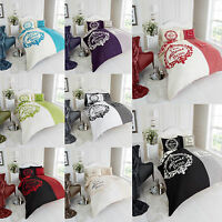 The Real Boss Double King Bed Duvet Bedding Quilt & Pillow Cover Set New Gift