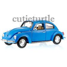 Welly VW Volkswagen Beetle 1:24 Diecast Model Car 22436 Blue