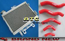 For HONDA CR125 CR125R 1998 1999 98 99 Aluminum Radiator + Silicone Hose