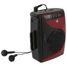 GPX CAS337B Cassette Player and Recorder With Am/fm Radio