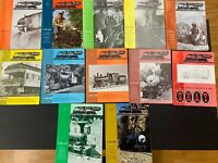 1974 LIVE STEAM Full Year Collection Magazine,January To December,Train Magazine