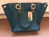 Fabulous Age Turquoise Bag New With Tags Retail $89