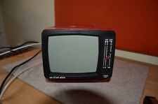 Fernseher tele STAR 4004 in rot, TOP Zustand, 6 Zoll, tragbar, s/w