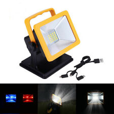15W 6.5H Battery Powered Rechargeable LED Work Light Magnetic Base Lighting New