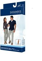 Sigvaris 230 Cotton Series 20-30 Unisex OPEN TOE Knee