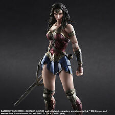 Play Arts DC Comic Wonder Woman 26cm PVC Action Figure Statue Kid Toy With Box