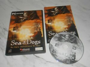 Sea Dogs - An Epic Adventure at Sea - ORIGINAL RELEASE COMPLETE - PC CD-ROM