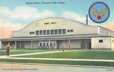 Chanute Field,IL.WW II,SPorts Arena,Linen,c.1940s
