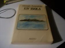 LIBRO UN'ISOLA GIORGIO AMENDOLA RIZZOLI 1980