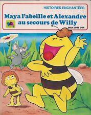 BD DEUX COQS D'OR--TF1-MAYA L'ABEILLE ET ALEXANDRE AU SECOURS DE WILLY--1981