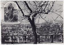 GENOVA CITTÀ 637 SANTUARIO MADONNA DELLA GUARDIA Cartolina FOTOGRAFICA VIAGGIATA