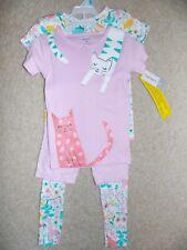 Carter's Toddler Girl's 4-Piece Set Cats Size 5T