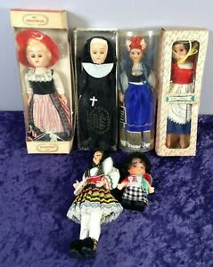 Small Collection Of Vintage Weird & Wonderful Dolls