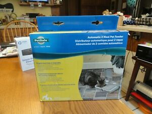 PetSafe Eatwell 2 Meal Timed Automatic Pet Feeder PFD11-13706 FAST SHIP