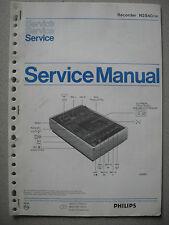 Philips N2540 Service Manual