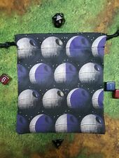 Star Wars Phases Of The Death Star dice bag, card bag, makeup bag