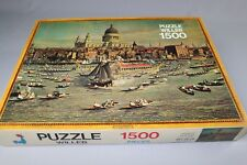 ZB534 Willeb 1923A Puzzle 1500 Pièces Carton Canaletto Londres Tamise 56x76 cm