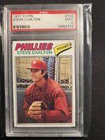 1977 Topps Steve Carlton #110 PSA 9 HOF
