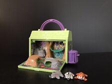 Vintage Galoob Pound Puppy Puppies Jungle Mini Playset 1997