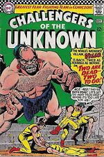 """DC (1966) CHALLENGERS OF THE UNKNOWN #52 - """"Two Are Dead - Two to Go!"""" 5.5 FN-"""