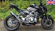 Kawasaki Z900 (2017) SP Engineering Satin Black Round Moto GP XLS Exhaust