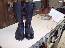 FIREFIGHTERS BOOTS  ACTUAL PICTURE OF THE BOOTS SIZE 10E FREE SHIPPING